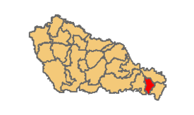 Donji Vidovec municipality location.png