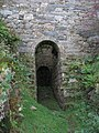 Door to the wheel pit at the basement of Ynysypandy mill - geograph.org.uk - 280195.jpg