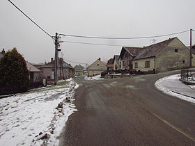 Down part of Bransouze, Třebíč District.JPG