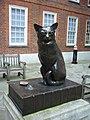 Dr Johnson's pet cat 'Hodge', Gough Square - geograph.org.uk - 1713195.jpg
