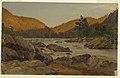 Drawing, Autumn Landscape in North Carolina, 1865–70 (CH 18200331).jpg