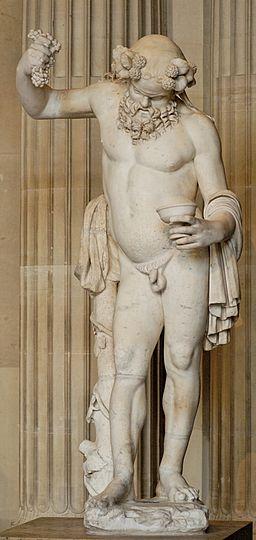 Drunken Silenus Louvre Ma291