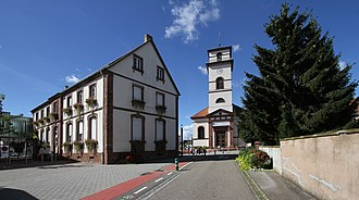 Drusenheim - Image: Drusenheim 02 Schule St Matthaeus gje