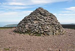 Dunkery Hill - The summit cairn