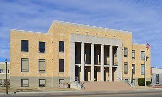 Dunklin County, Missouri - Image: Dunklin Co Missouri Courthouse 20170128 3726. 3728