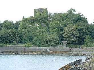 Lorne, Scotland - The medieval castle at the site of Dun Ollaigh, capital of the Cenél Loairn