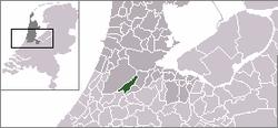 Vị trí của Aalsmeer