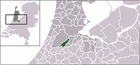 Location of Aalsmeer的位置