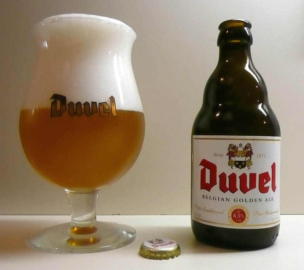 Duvel and glass sunday