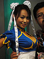 E3 2011 - Chun-Li from Street Fighter poses with fans at the Capcom booth (5830560513).jpg
