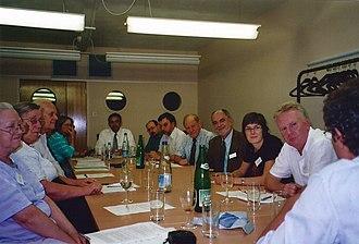 European Skeptics Congress - ECSO Board and CSICOP members meeting at the 11th European Skeptics Congress in London.