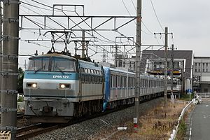 Tokyo Metro 15000 series - Set 15111 being delivered in June 2011