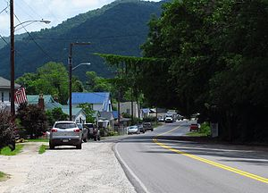 East Bank, West Virginia - State Road 61 in East Bank