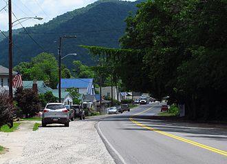East Bank, West Virginia - State Road 61 in East Bank