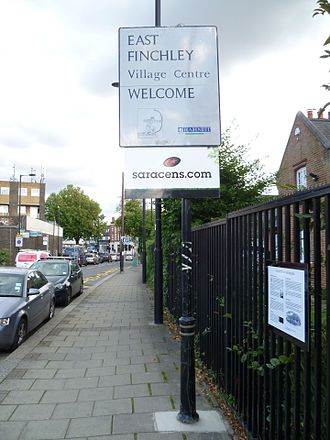 East Finchley - Welcome to East Finchley village, East End Road.