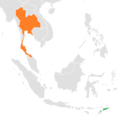 East Timor–Thailand Locator.png