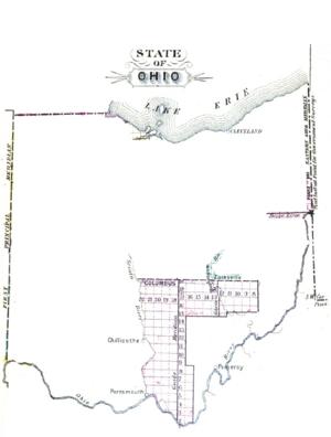 Congress Lands East of Scioto River - Image: East of Scioto River Survey