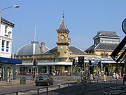 Eastbourne train station