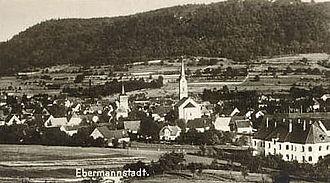 Ebermannstadt - Ebermannstadt in 1928