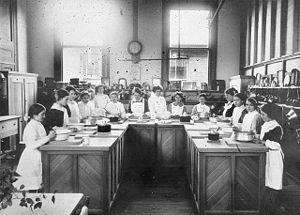 Cultural institutions in Australia - Image: Echuca Mechanics Institute Cookery Class