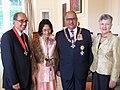 Eddie Durie, Kahu Durie, Anand Satyanand, Susan Satyanand.jpg