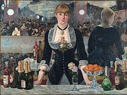 Édouard Manet: A Bar at the Folies-Bergère