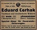 Eduard Cerhak Annonce 1913.jpg