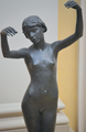 Edward Onslow Ford (1852-1901) - Echo (1895) above front, knees upward, Lady Lever Art Gallery, June 2013 (9097477794).png