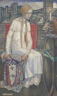 Elaine of Astolat figure in Arthurian legend