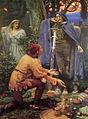 Edward Robert Hughes - Bertucciova nevesta (1895).jpg