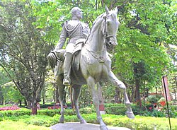 The Kala Ghoda(Black Horse) Statue