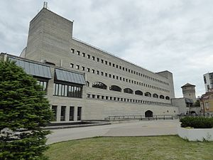 National Library of Estonia - Image: Eesti Rahvusraamatukogu, Tallinn (14670311202)