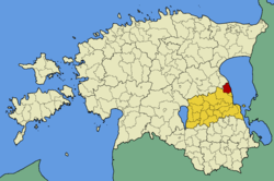 Alatskivi Parish within Tartu County.