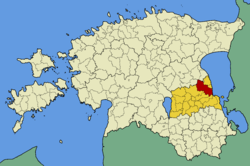 Vara Parish within Tartu County.