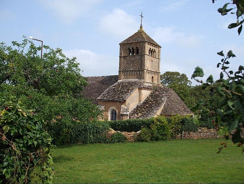 Église d'Ameugny (Saône et Loire)