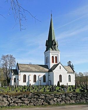 Eidsvoll Church - Image: Eidsvoll kirke