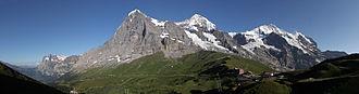 Sphinx Observatory - Image: Eiger Mönch Jungfrau 01