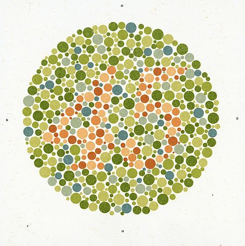 fileeight ishihara charts for testing colour blindness