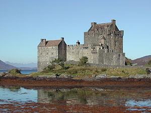 Mio in the Land of Faraway - Eilean Donan Castle.