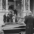 Einde van het feest vertrek Koninklijke gasten Fabiola Boudewijn Charlotte van L, Bestanddeelnr 913-8641.jpg