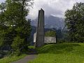 Eisenerz - Kriegerdenkmal am Hügel bei der Föhrenstraße.jpg