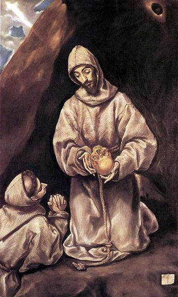 File:El Greco- St. Francis and Brother Leo Meditating on Death.JPG