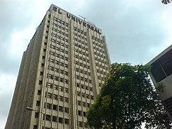 Torre El Universal, en el centro de Caracas .