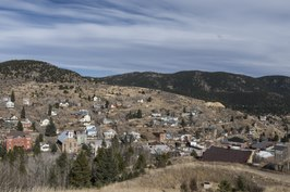 Elevated view of Central City, Colorado LCCN2015633090.tif