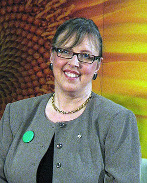 Green Party of Canada leadership election, 2006 - Image: Elizabeth May (environmentalist)