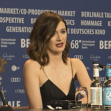 Emily Mortimer - The Bookshop - Press Conference.jpg