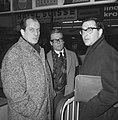 Engelse schrijver Harold Pinter in Holland om Het Verjaardagsfeest bij te wone, Bestanddeelnr 913-5845.jpg
