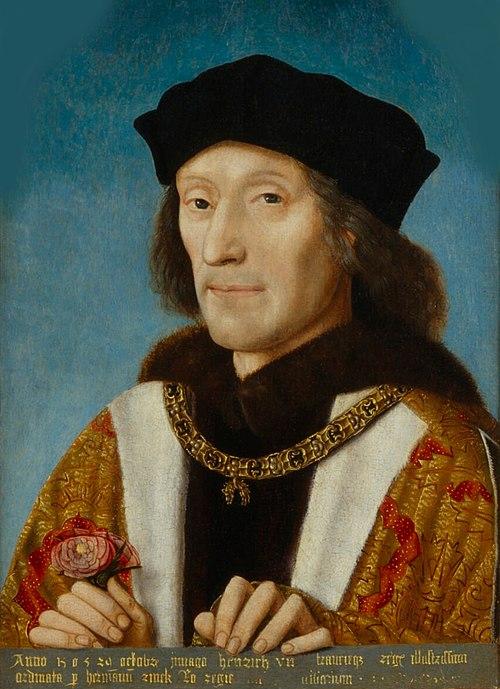 Enrique VII por Michael Sittow