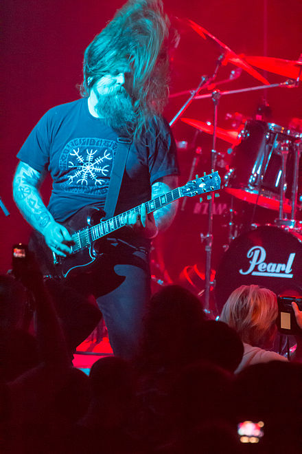 Ivar Bjørnson of Enslaved at Barge to Hell, December 2012 Enslaved, Barge to Hell 2012 02.jpg