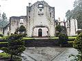 Entrance to the Chapel in the Former Carmelite monastery in the Desierto de los Leones National Park, Mexico.jpg